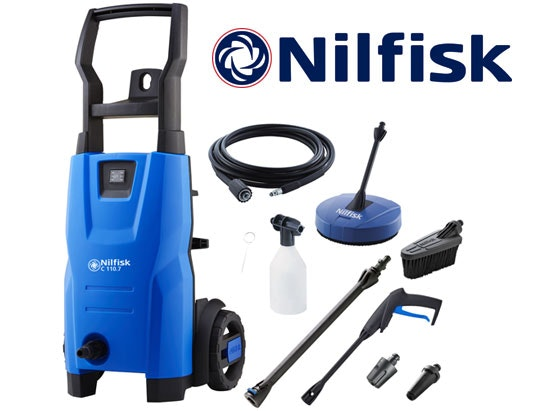 a Nilfisk compact pressure washer sweepstakes
