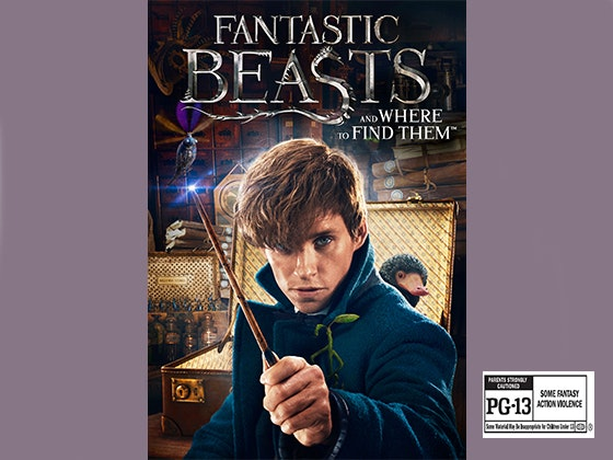 Fantastic Beasts on Digital HD sweepstakes