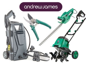 Andrew james gardening tools competition