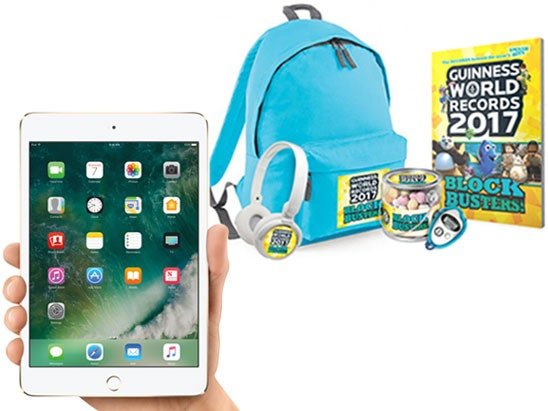 Guinness World Records: Blockbusters! & Apple iPad sweepstakes