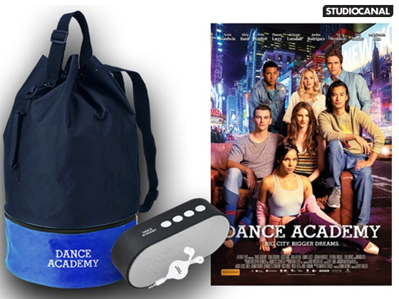 Dance Academy Movie & Merchandise Pack sweepstakes