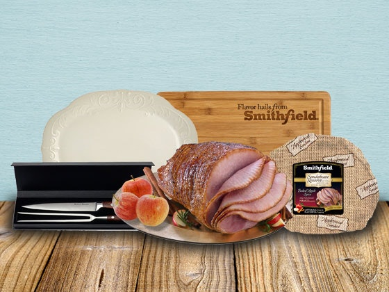 Smithfield Spiral Sliced Ham Prize Package sweepstakes