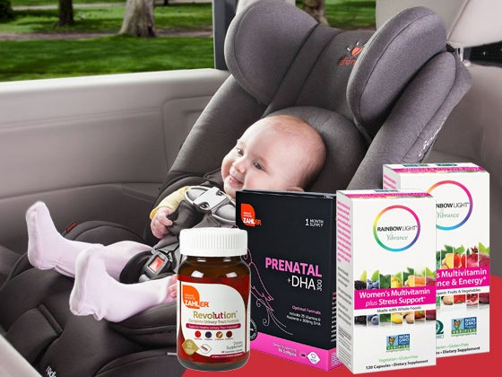 Diono Radian RXT Car Seat and Vitamins sweepstakes