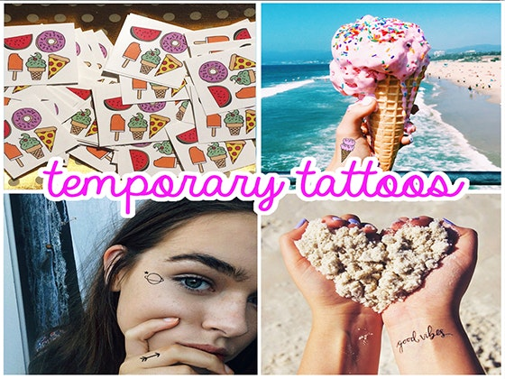 Temporary Tattoo Fun Pack from Inked by Dani sweepstakes