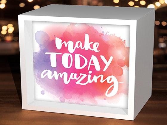 LightBoxArts Decorative Cube sweepstakes