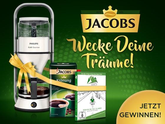 Genusspakete von Jacobs gewinnen Gewinnspiel