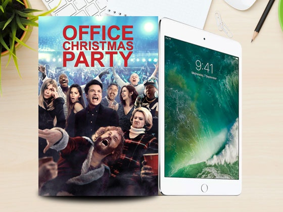 Office Christmas Party Digital HD & iPad mini 2 sweepstakes