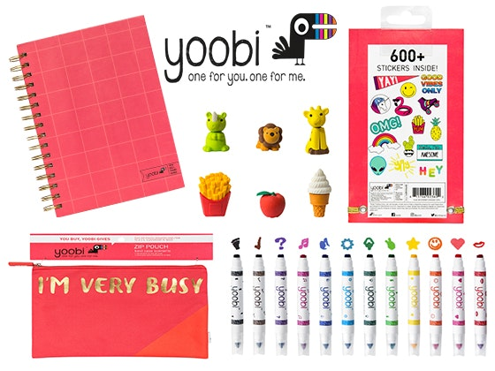 Yoobi Prize Bundle sweepstakes