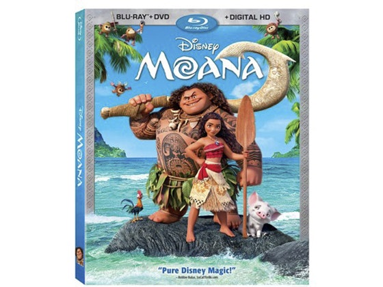"""Moana"" on DVD sweepstakes"
