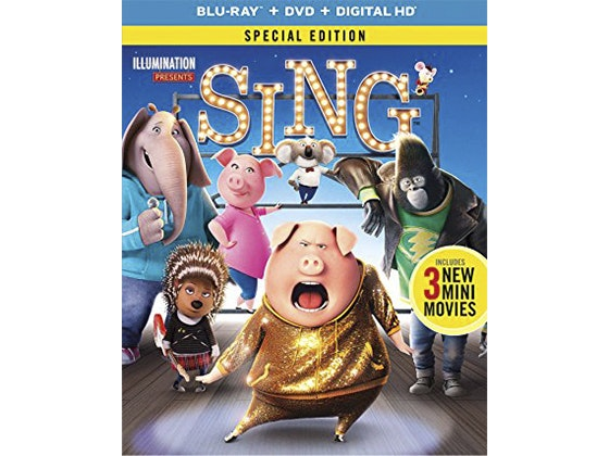 Sing on Blu-ray Combo Pack sweepstakes