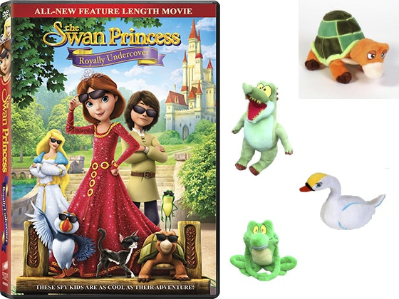 Swan Princess: Royally Undercover DVD sweepstakes