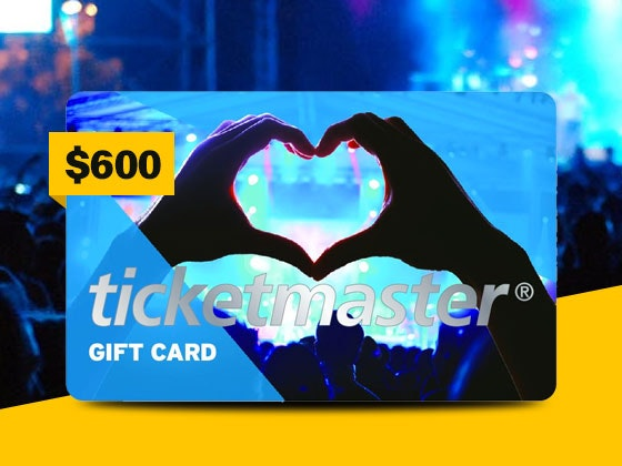 $600 Ticketmaster Gift Card and SING on Blu-ray Combo Pack sweepstakes