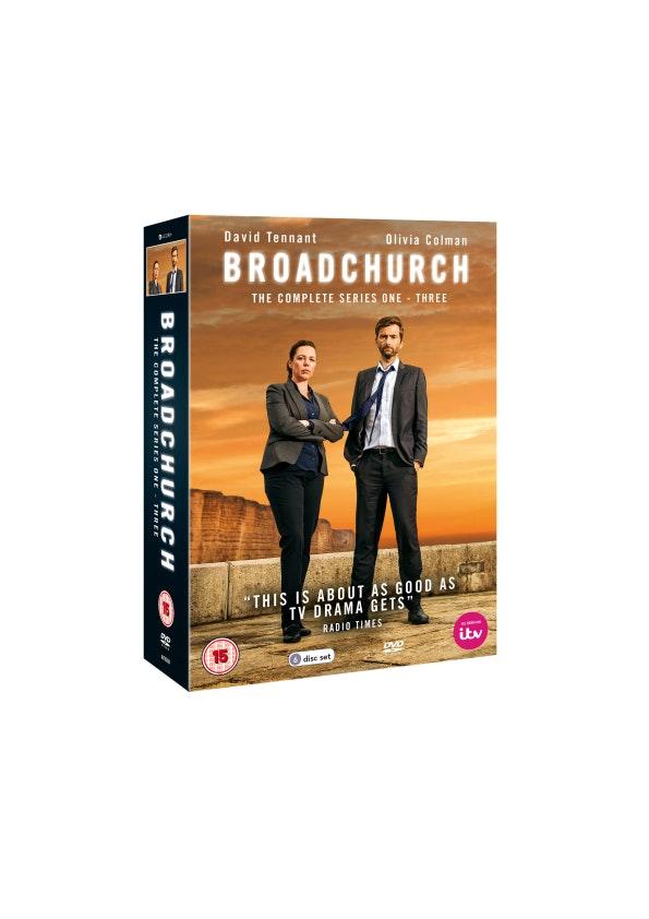 Broadchurch box set  sweepstakes