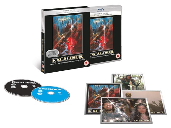 Excalibur on Blue-ray sweepstakes