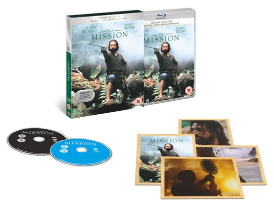 The Mission on Blu-ray sweepstakes