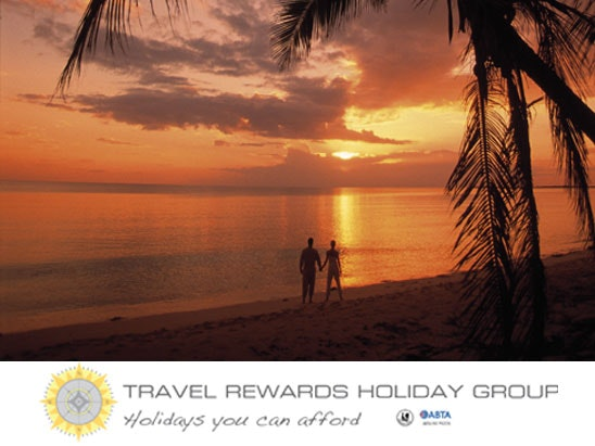 Travel rewards company holiday competition