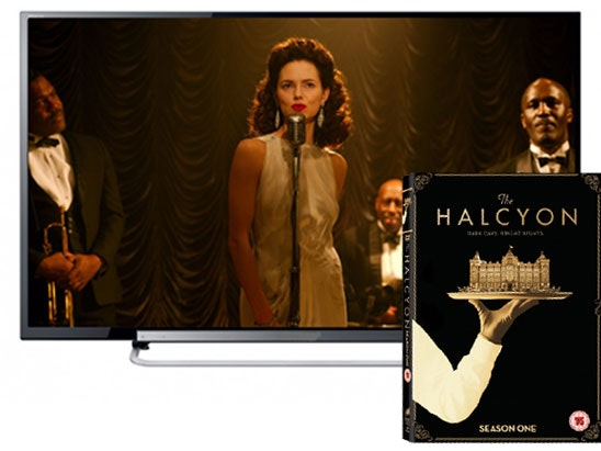 a 40in LED TV & The Halcyon DVD sweepstakes