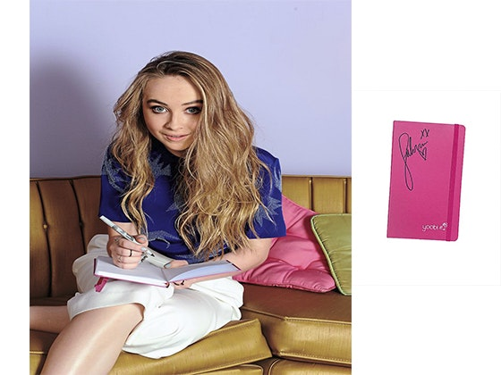 Sabrina's Signed Notebook sweepstakes