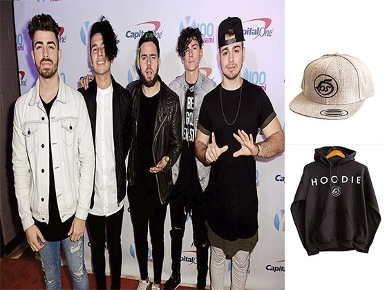 Los 5 Signed Merch sweepstakes