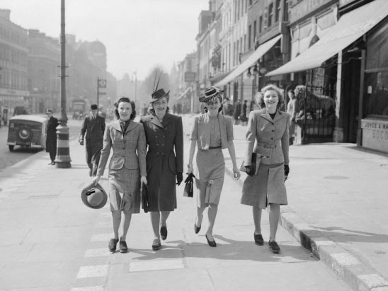 Fashion on the Ration: 1940s Street Style sweepstakes