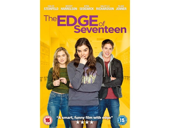 The Edge of Seventeen DVD sweepstakes