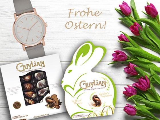 DKNY Uhr & Guylian Oster-Pralinen Gewinnspiel