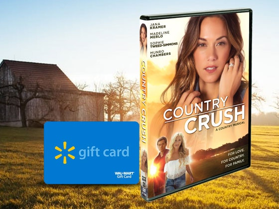Country Crush DVD and $100 Walmart Gift Card sweepstakes