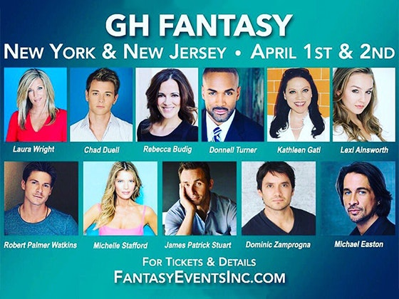VIP Tickets to the GH Fantasy Weekend in New Jersey sweepstakes