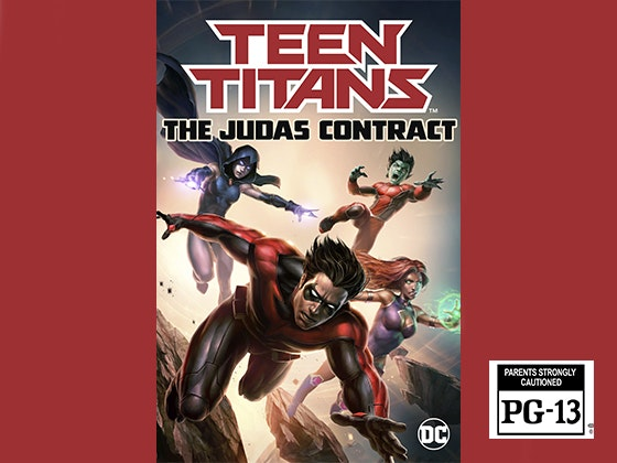 DCU Teen Titans: The Judas Contract on Digital HD sweepstakes
