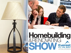 Nigel tyas table lamp the homebuilding renovating show competition