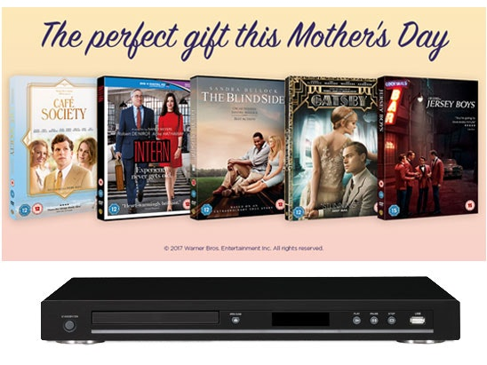 Mother's Day DVDs & a Blu-ray player sweepstakes