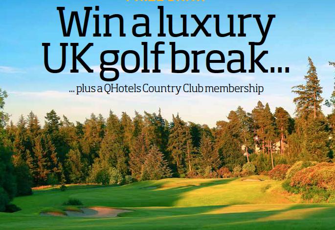 Win a luxury UK golf break sweepstakes