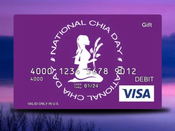 Mamma Chia Prize Package & a $50 Gift Card sweepstakes