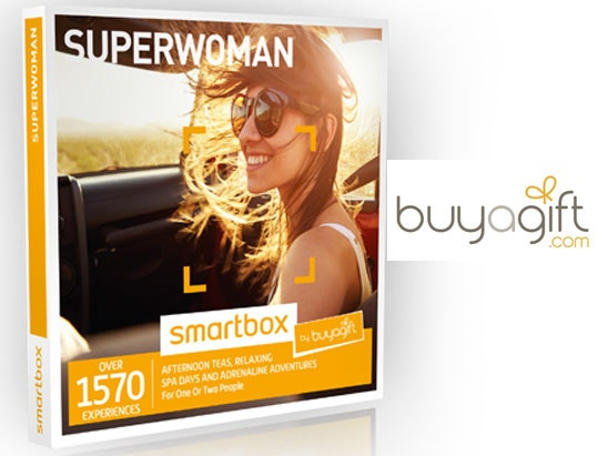 a Superwoman Smartbox from Buyagift.com sweepstakes