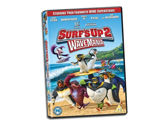 SURF'S UP 2: WAVEMANIA DVD! sweepstakes