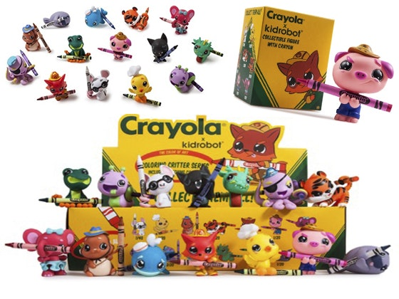 Kidrobot Crayola Critters Collection sweepstakes