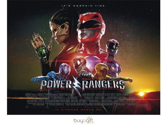 Power rangers buy a gift