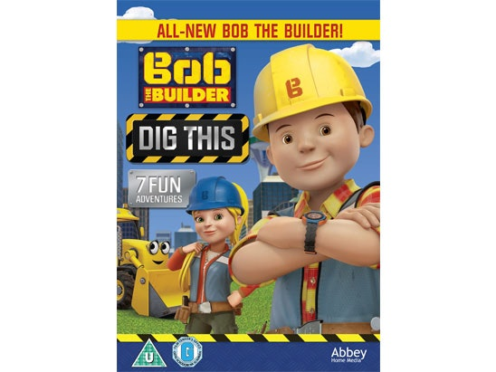 Bob The Builder - Dig This on DVD sweepstakes