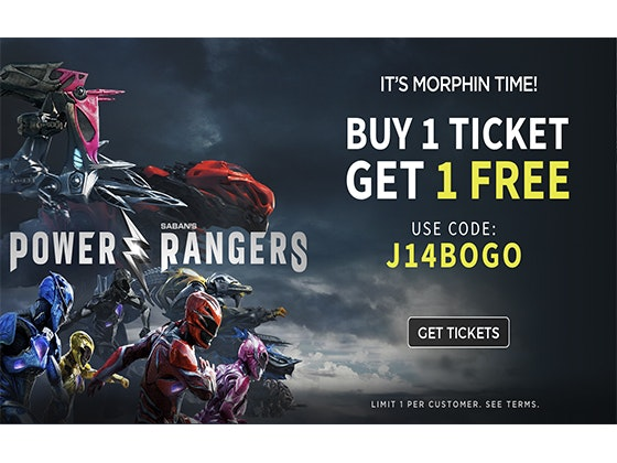Power Ranger Tickets sweepstakes