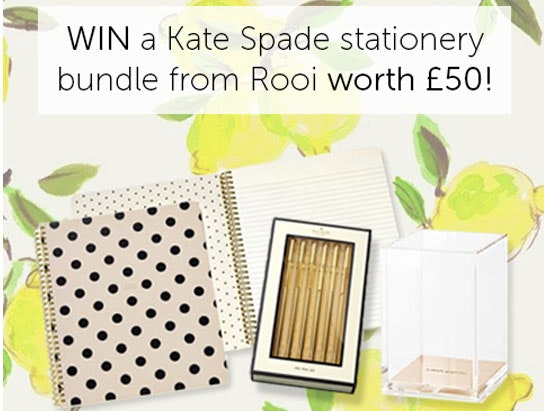 Kate Spade Stationery Bundle  sweepstakes