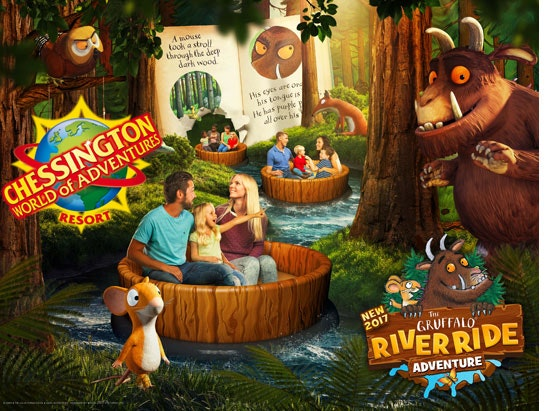 a family day out at Chessington World of Adventures Resort sweepstakes
