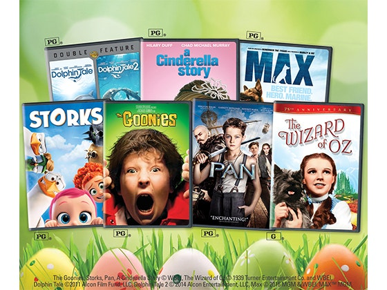 Easter Movie Promotion sweepstakes