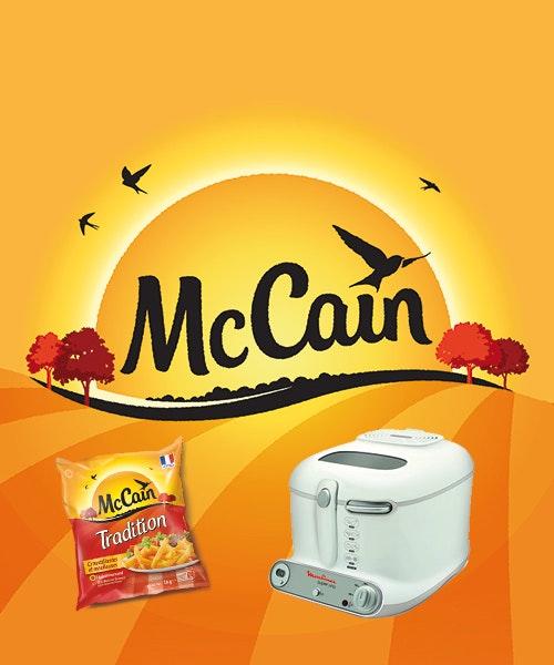 jeu concours 10 friteuses et des frites Tradition à gagner avec McCain