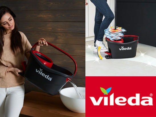 Win a Vileda mop set & £100 Love2shop voucher sweepstakes