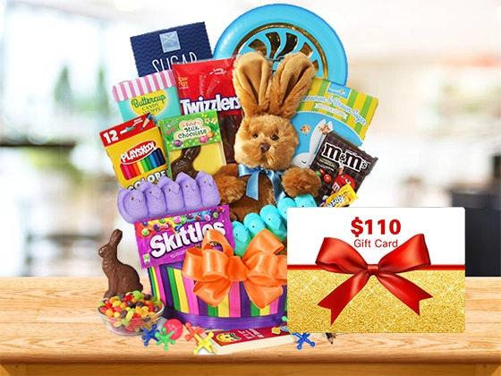 Easter: GourmetGiftBaskets.com Gift Certificate sweepstakes