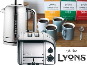 Lyons coffee bags dualit kettle dualit toaster competition