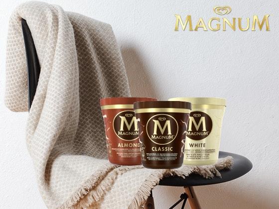 Genuss-Paket von Magnum gewinnen Gewinnspiel