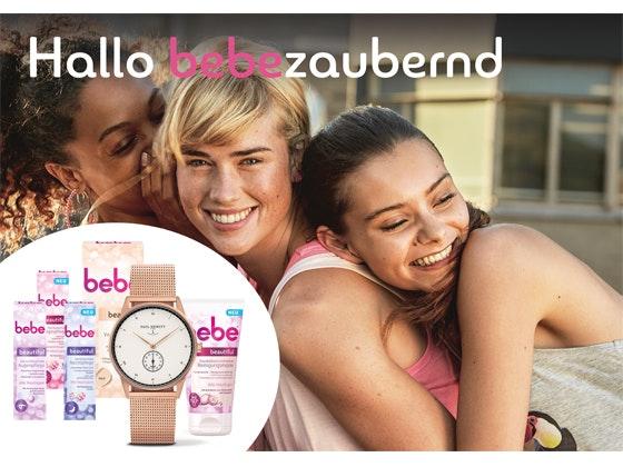 Bebe Beautyset & Paul Hewitt Uhr Gewinnspiel
