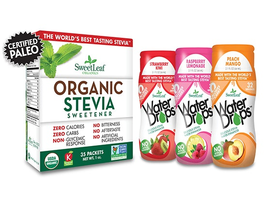 SweetLeaf® Organic Stevia Sweetener & Water Drops™ sweepstakes