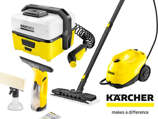 Karcher cleaning goodies sweepstakes